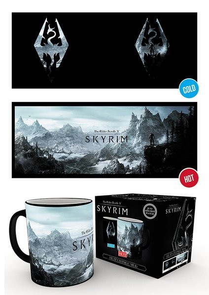Skyrim - Dragon Symbol Mug