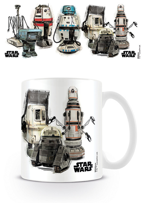 Cup Solo A Star Wars Story - Droids