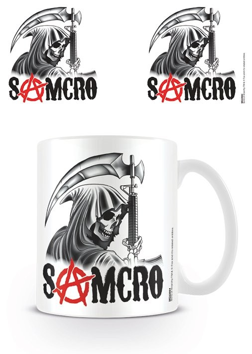 Prächtig Sons of Anarchy - Samcro Reaper Mug, Cup | Buy at Abposters.com @YV_97