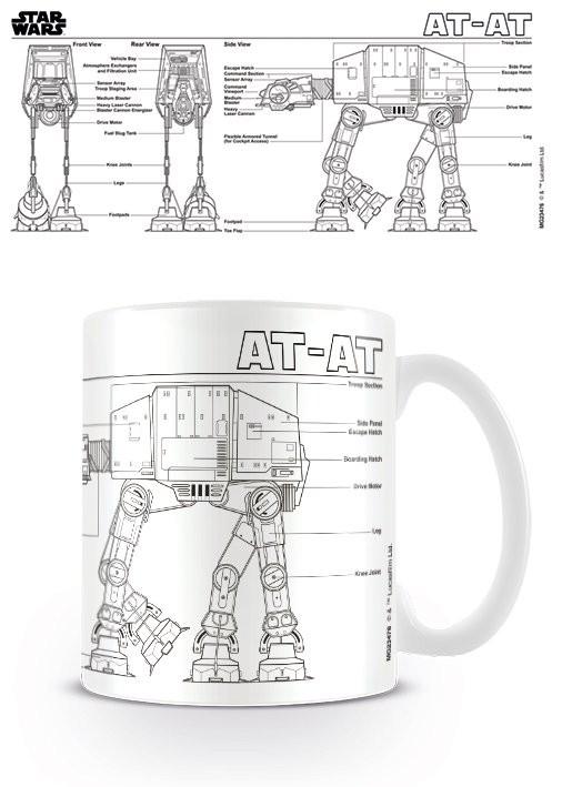 Star Wars - At At Sketch Mug