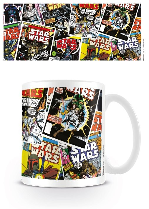 Star Wars - Comic Covers Mug