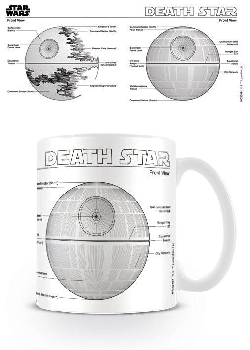 Star Wars - Death Star Sketch Mug