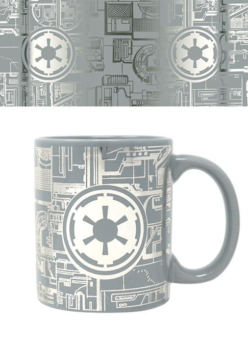 Cup Star Wars - Death Star Surface