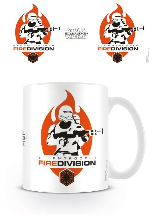 Star Wars Episode VII  - Fire Division Mug