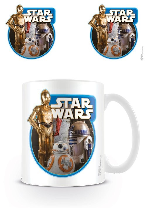 Star Wars Episode VII: The Force Awakens - Droids Mug