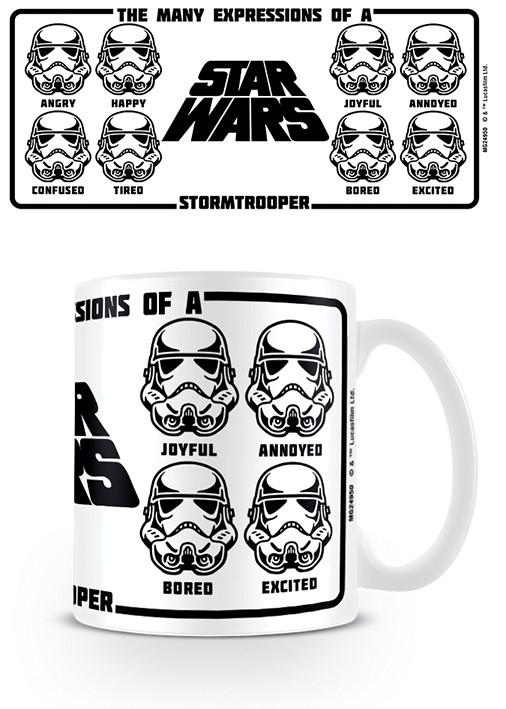 Star Wars - Expressions Of A Stormtrooper Mug