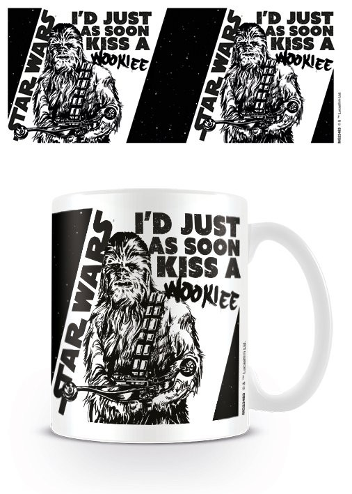 Star Wars - Kiss a Wookie Mug