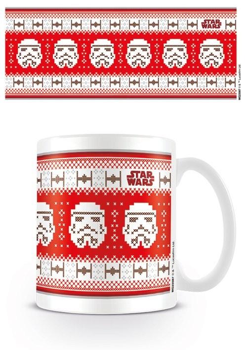 Star Wars - Stormtrooper Xmas Mug
