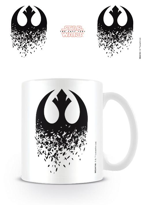 Star Wars The Last Jedi Rebel Symbol Mug Cup Buy At Europosters