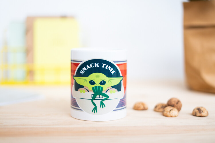 Cup Star Wars: The Mandalorian - Snack Time