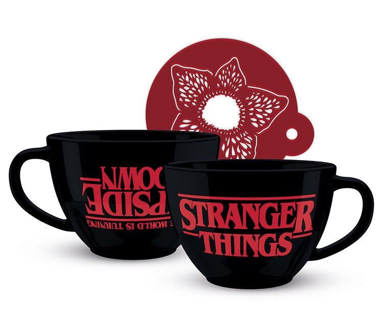 Cup Stranger Things - The World is Turning Upside Down