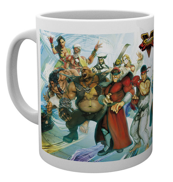 Street Fighter 5 - Characters Mug