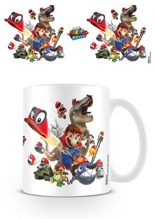 Super Mario Odyssey - Cap Montage Mug