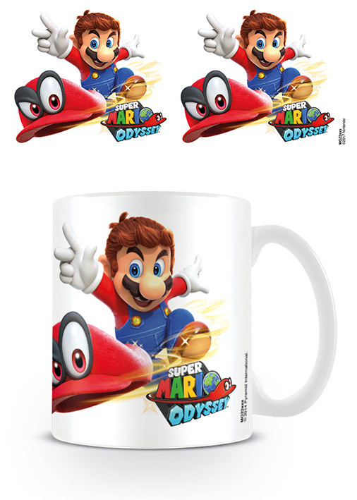 Super Mario Odyssey - Cappy Throw Mug