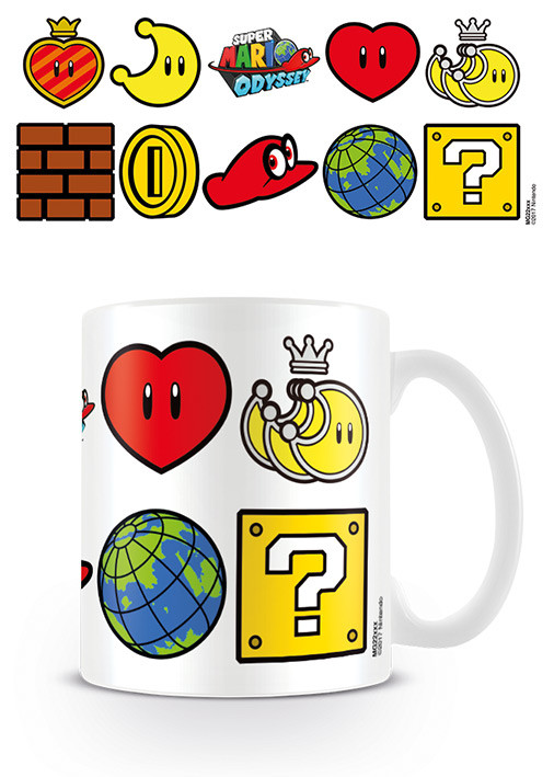 Super Mario Odyssey Icons Mug Cup Buy At Ukposters