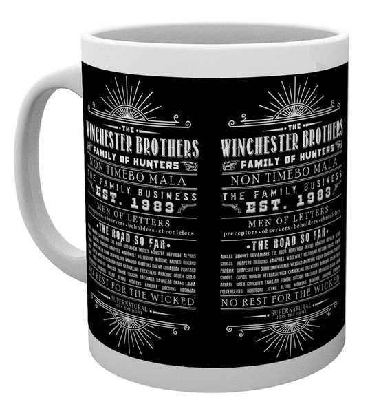 Supernatural - Family Business Mug