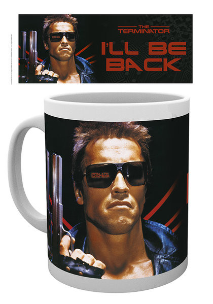 Terminator - I ll be back with Mug