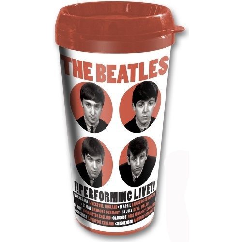 Travel mug The Beatles - Perfoming Live