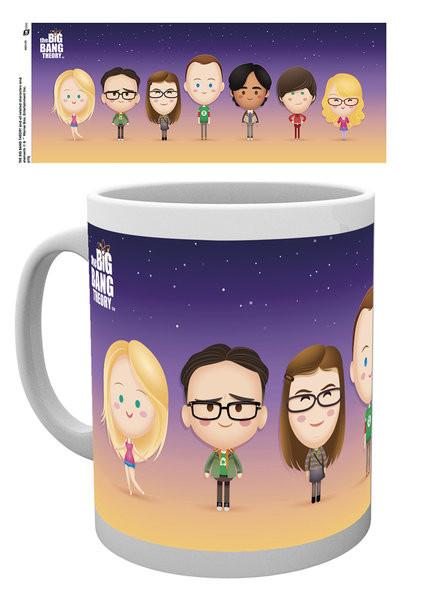 Cup The Big Bang Theory - Characters