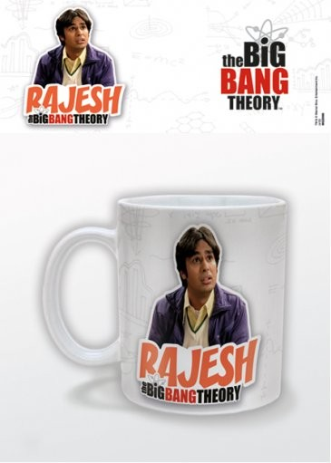 The Big Bang Theory - Rajesh Mug