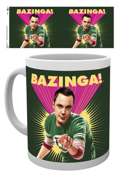 The Big Bang Theory - Sheldon Bazinga Mug