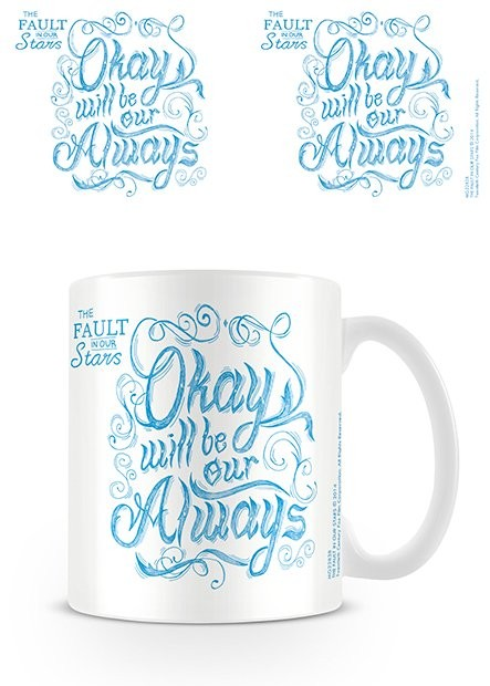 The Fault in Our Stars - Script Mug