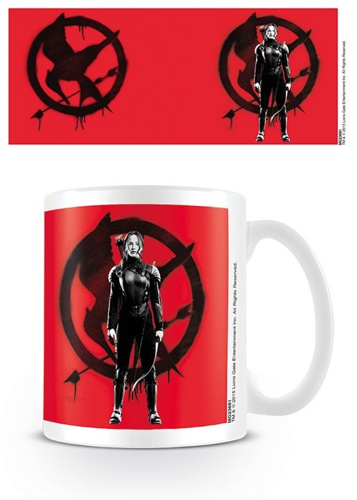 The Hunger Games: Mockingjay Part 2 - Katniss at War Mug