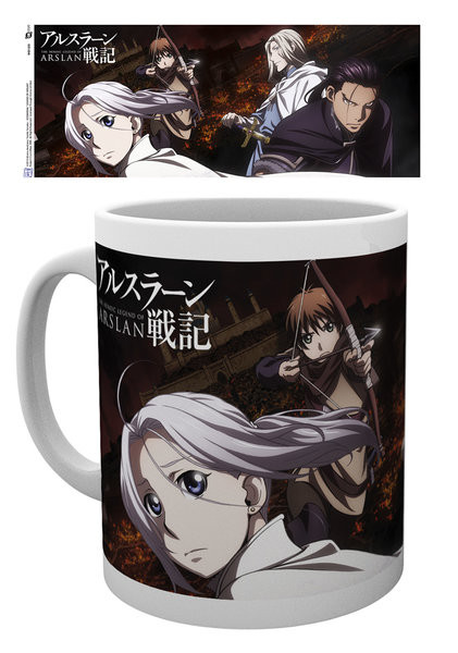 The Legend Of Arslan - Group Mug