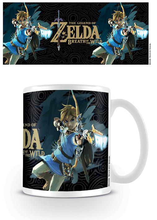 The Legend Of Zelda: Breath Of The Wild - Game Cover Mug