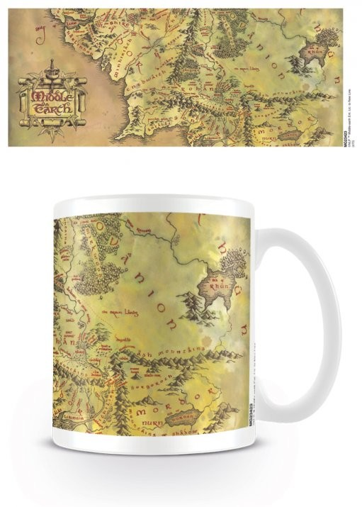The Lord of the Rings - Middle Earth Mug