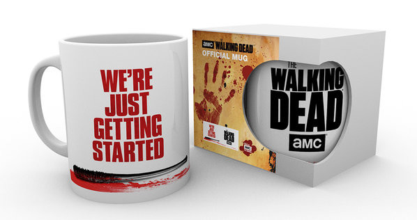 The Wakling Dead - Were Just Getting Started Mug
