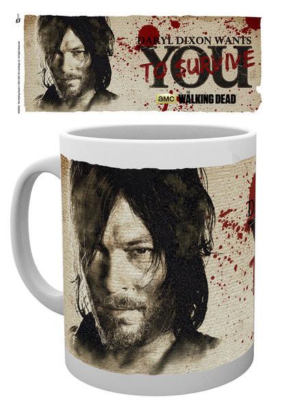 The Walking Dead - Daryl Needs You Mug
