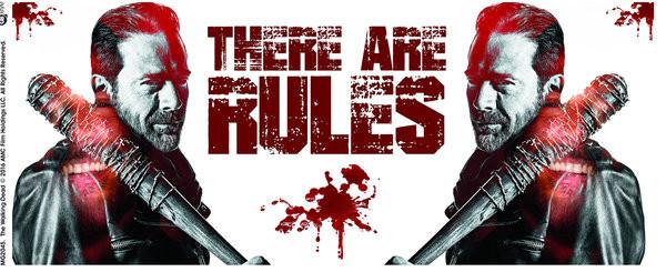 The Walking Dead - Rules Mug