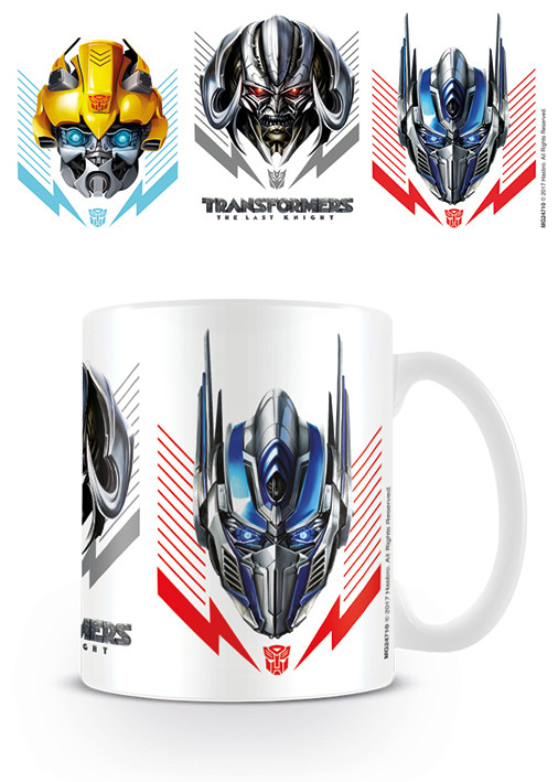 Transformers: The Last Knight - Helmets Mug