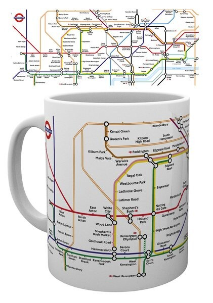 Cup Transport For London - Underground Map