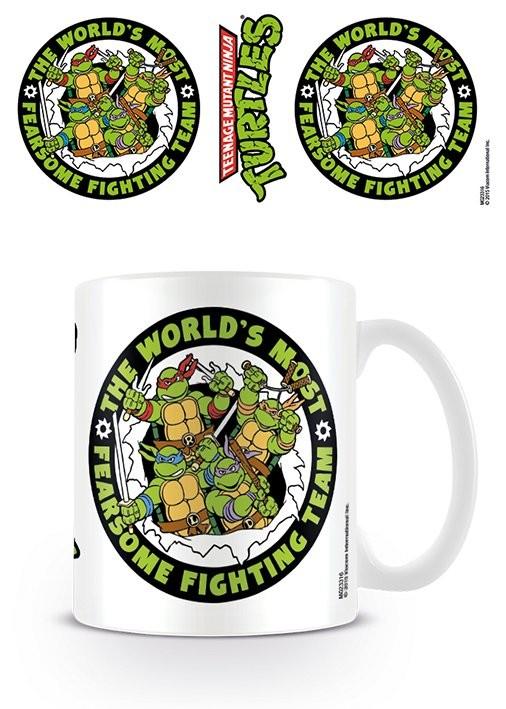 Turtles Retro - Team Mug