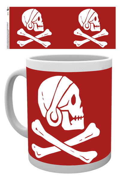Uncharted 4: A Thief's End - Red Skull Mug