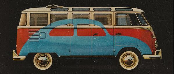 VW Volkswagen Camper - Advert Mug