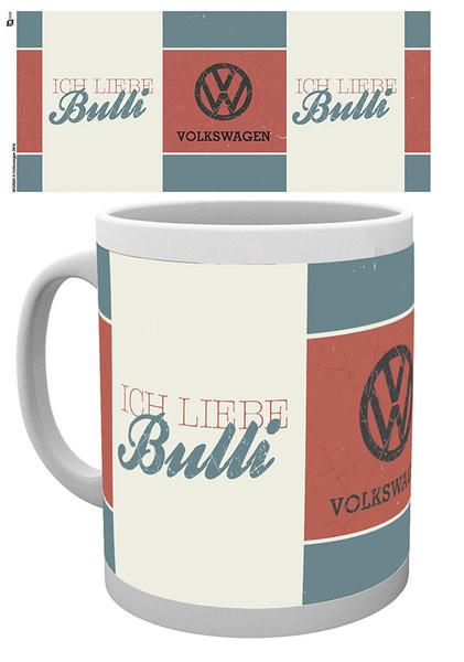 VW Volkswagen Camper - Ich Liebe Grid Mug