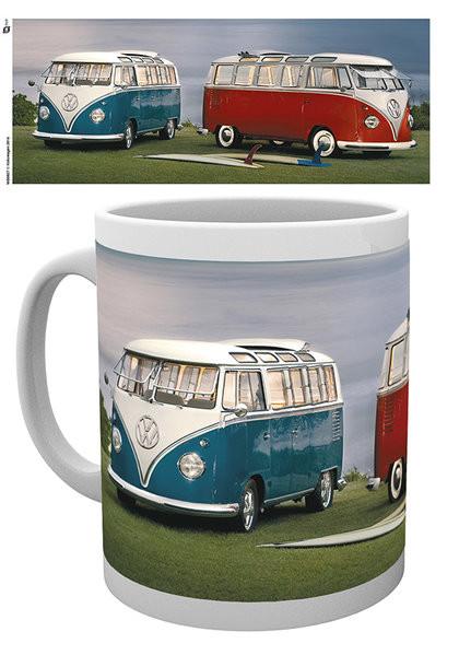 VW Volkswagen Twin Kombis - Brendan Ray Mug