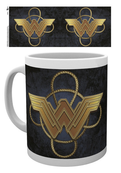 Wonder Woman - Gold Logo Mug
