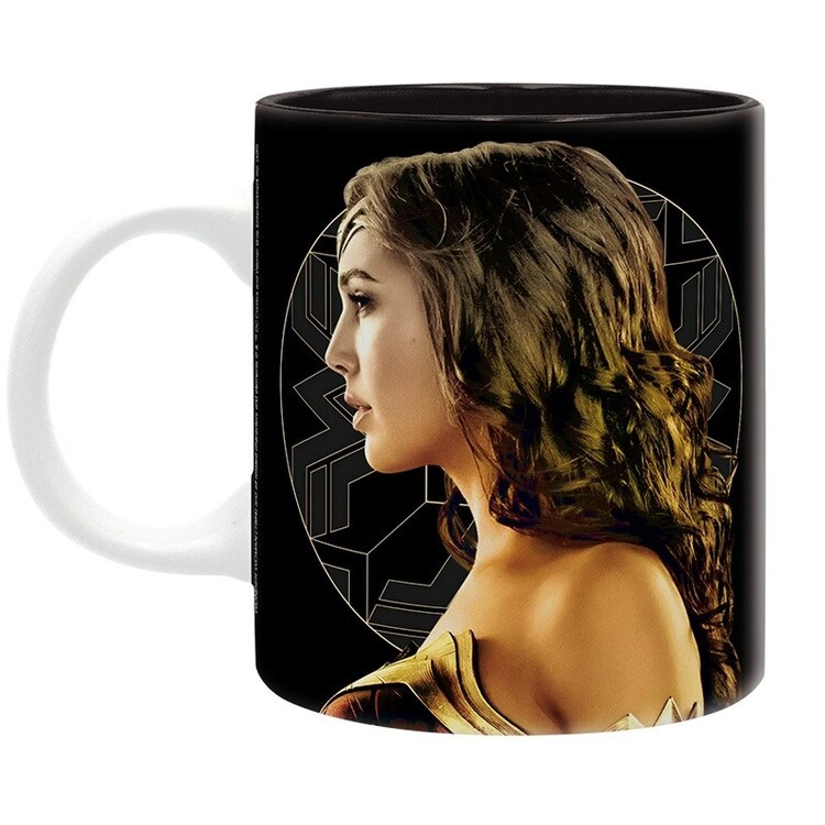 Cup Wonder Woman - Golden