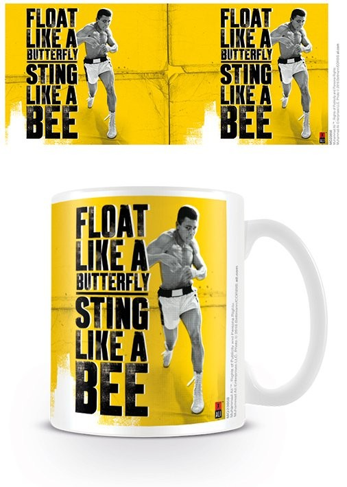 Cup Muhammad Ali - Float like a butterfly,sting like a bee