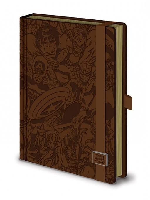 Marvel Retro - Premium A5 notebook Muistiinpanovälineet
