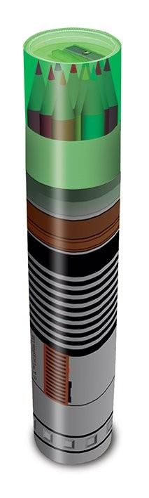 Star Wars - Lightsaber Pencil Tube Muistiinpanovälineet