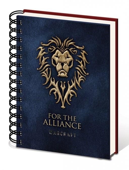 Warcraft: The Beginning - Choose a side A5 notebook Muistiinpanovälineet