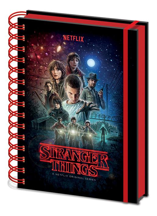 Muistikirjat Stranger Things - One Sheet