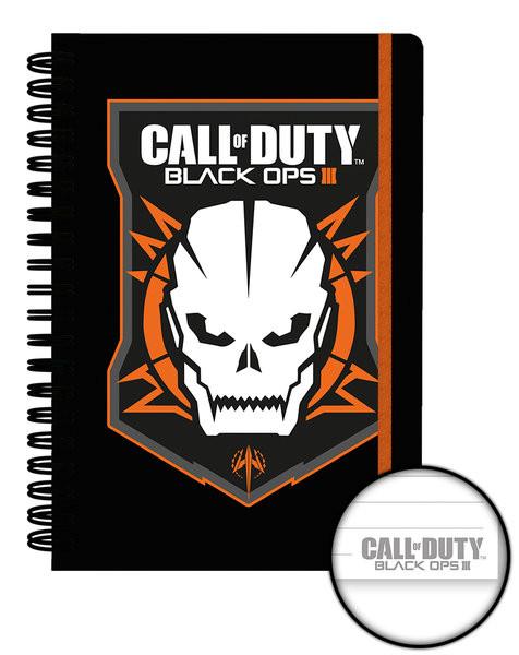 Call of Duty: Black Ops 3 - Logo Muistikirjat
