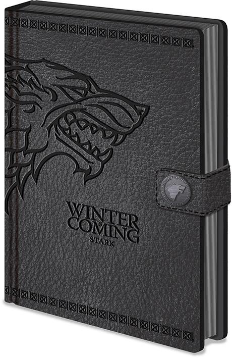 Game of Thrones - Stark Clasp Premium Muistikirjat