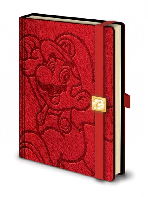 Mario - A5 Premium notebook Muistikirjat